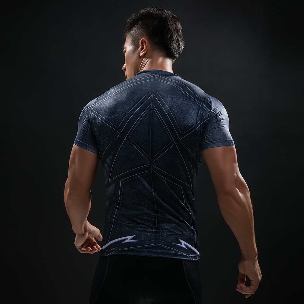 Punisher 3D Printed T-shirts Men Compression Shirts Long Sleeve Cosplay Costume crossfit fitness Clothing Tops Male Black Friday 37