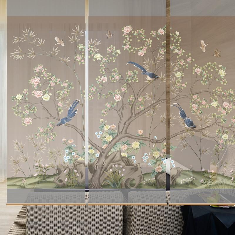 70cmx200cm Hanging Curtain Room Divide Biombo Screen