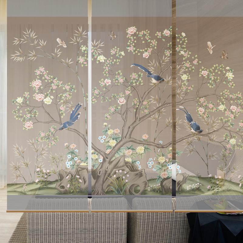 Online buy wholesale modern partition design from china for Living room glass partition designs