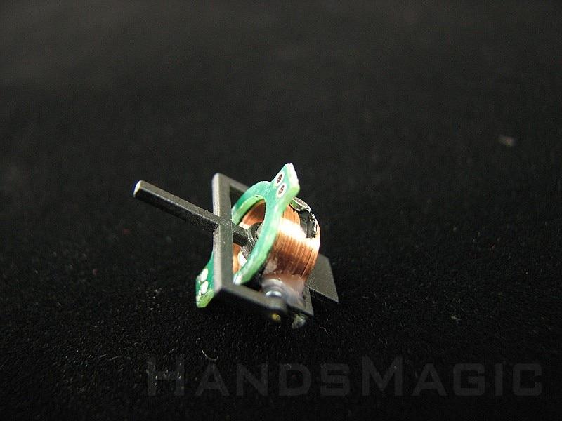 Nano Электромагнитный привод Магнитный Привод 6 мм 200 ом (0.6 г) Миниатюрная модель самолета