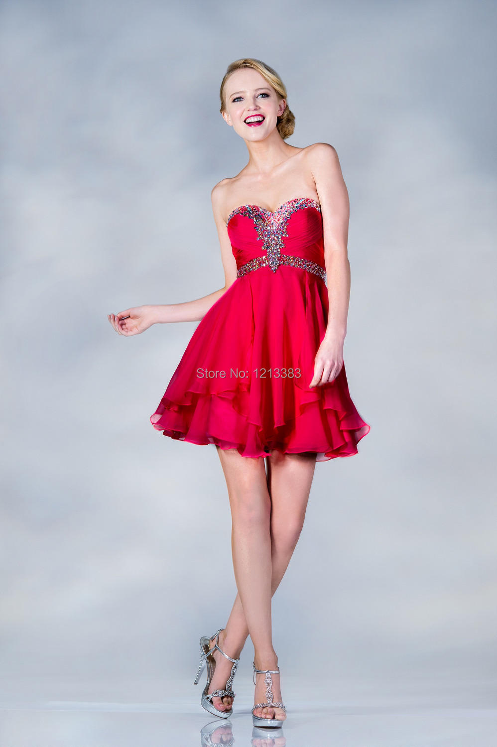 Awesome Red And White Party Dresses Component - All Wedding Dresses ...