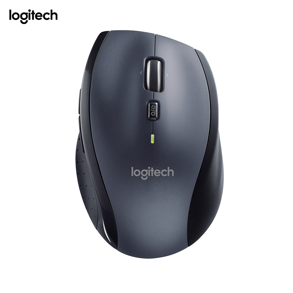 Souris sans fil Logitech M705 pour Windows, Mac, Chrome pour ordinateur portable et ordinateur, RF Wireless, 1000 DPI, 135 g-negro