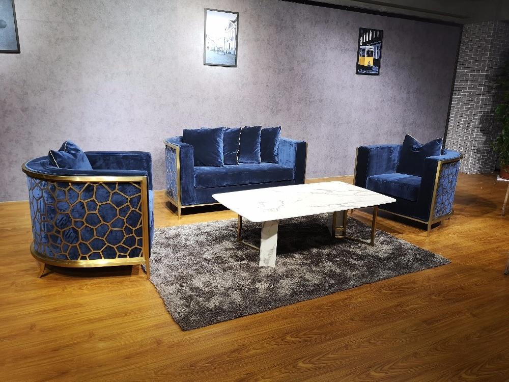 Beanbag Limited New Modern Sectional Sofa Fabric Bean Bag Chair Muebles 2018 Yg Furniture Luxury High Quality Golden Steel Sofa