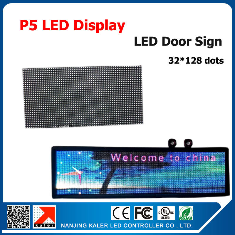 TEEHO High Quality 320*160mm 64*32pixels 1/16 Scan Indoor SMD3528 3in1 RGB P5 LED Module Indoor LED Display 32*128cm