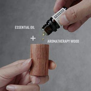 Image 5 - Wood essential Oil Car Diffuser Air Refreshing Freshener Relieve Driving Fatigue Auto Interior Aroma Perfume Scent Car Accessory