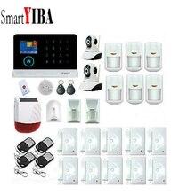 SmartYIBA 3G Alarm System WIFI APP Security Alarm Network IP Camera Wireless Alarm With Solar Siren