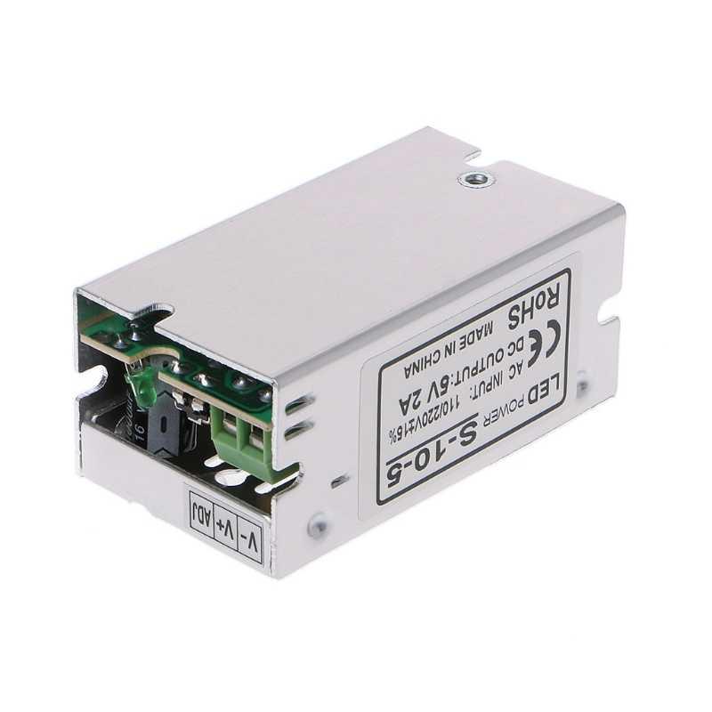 AC110-220V к DC 5 В 2A коммутации Питание Трансформеры драйверов 50/60 Гц модуль