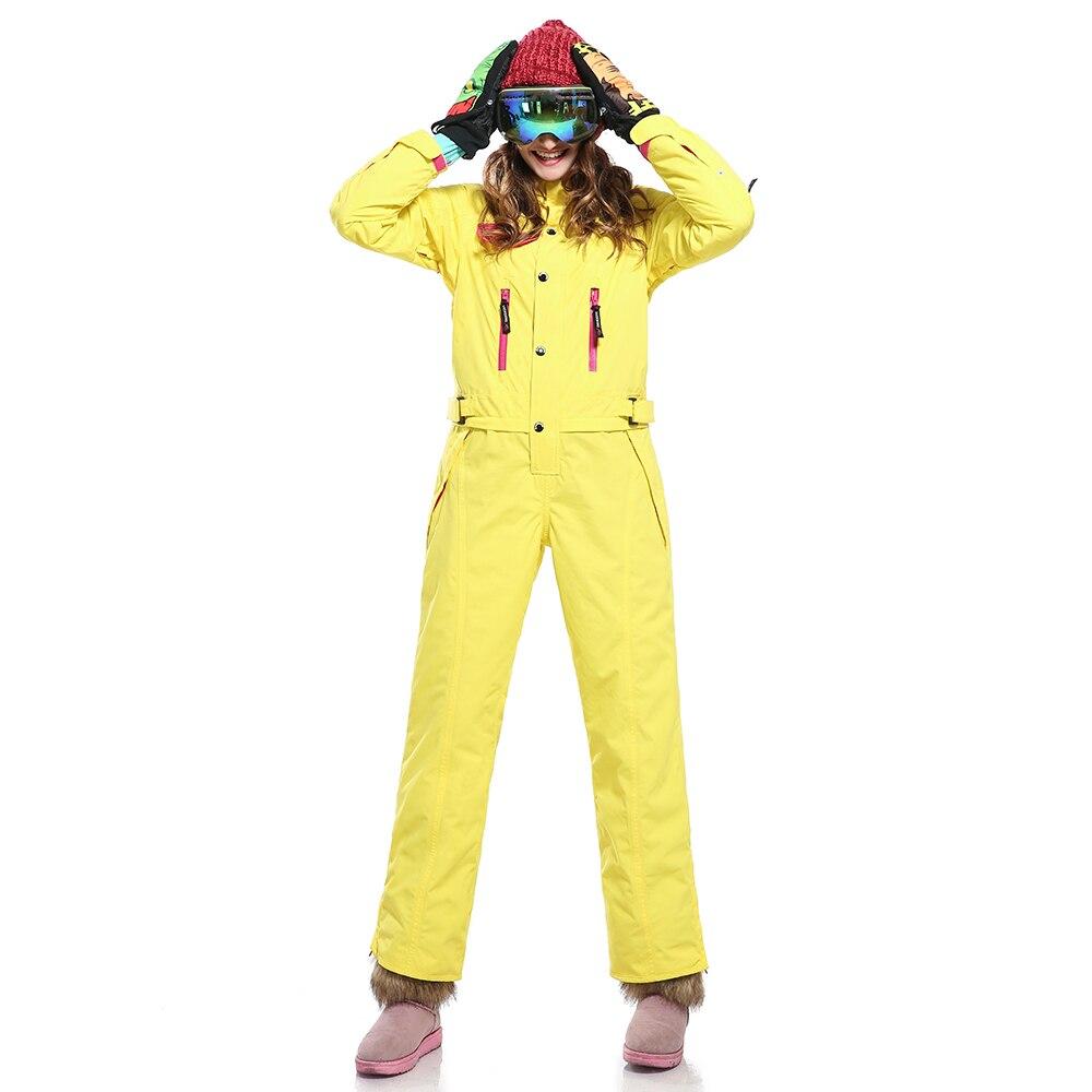 SAENSHING Зимний Лыжный комбинезон Для женщин Водонепроницаемый Windprood куртка для снежной погоды женские теплые дышащие Лыжный Спорт сноуборд п