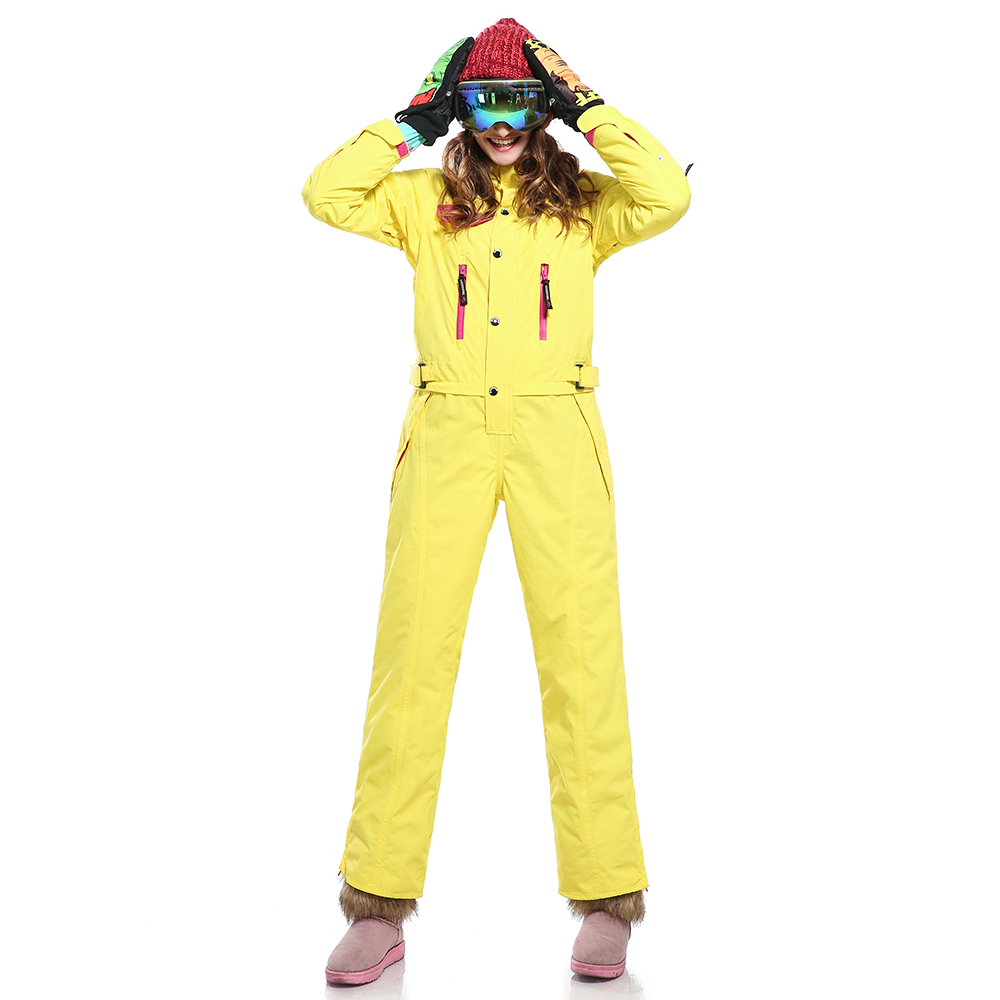 SAENSHING Winter Ski jumpsuit Women Waterproof Windprood Snow Jacket Ladies Warm Breathable Skiing Snowboard Coat Female