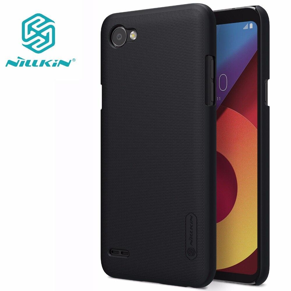 Cas Pour LG Q6 NILLKIN Super Givré Bouclier dur mat retour couverture LG Q6 Cas avec protecteur d'écran gratuit et paquet vendu au détail