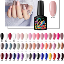 купить Lacheer 10ML Gel Nail Polish Soak Off Nail Art Led Nail Gel Varnish Semi Permanent UV Nail Polish Lacquer 48 Colors Gel Choose дешево
