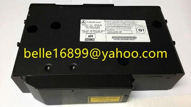 مرسيدس MC3520 A2038703389 MC3330 فئة 1 منتج الليزر مع alpine مبدل 6cd ل w220 s430 s500 cd كسلر المحرز في المجر