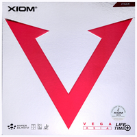 XIOM Table Tennis Rubber VEGA ASIA Fast break Speed Loop pimples in with sponge ping pong tenis de mesa