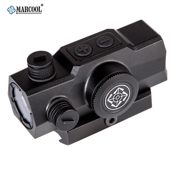 MARCOOL Hunting Shooting  1x20 Optical Red Dot Sight Scope With Picatinny Weaver Rail optical instrument