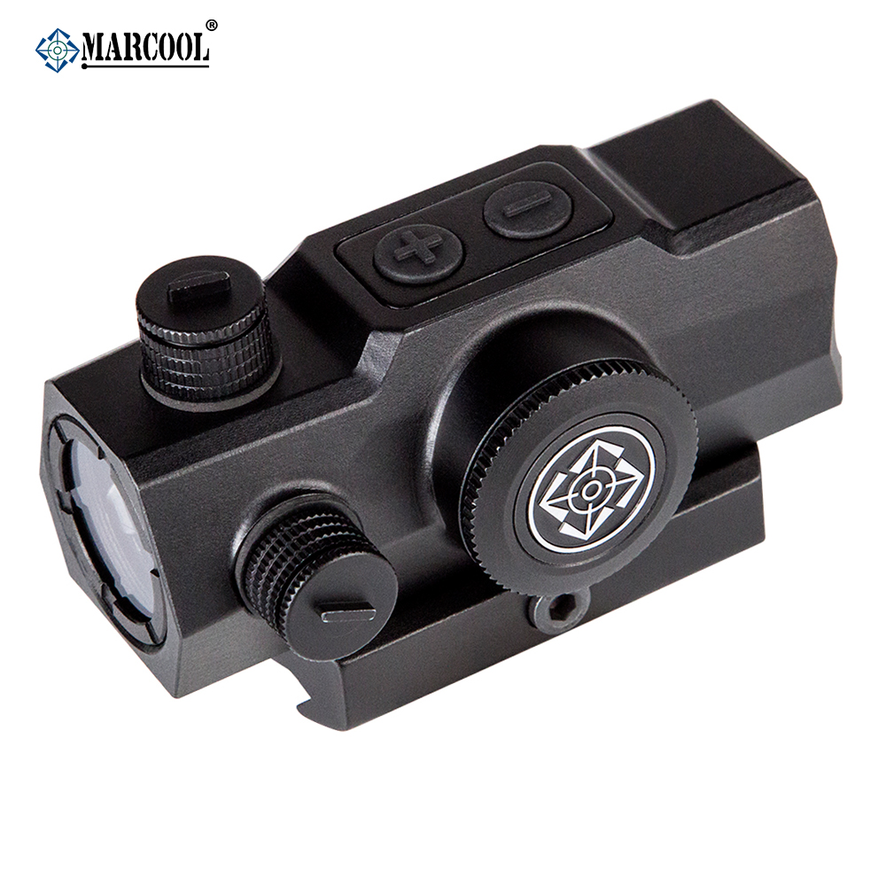 MARCOOL Hunting Shooting 1x20 Optical Red Dot Sight Scope With Picatinny Weaver Rail бордюр atlas concorde admiration crema marfil spigolo 1x20