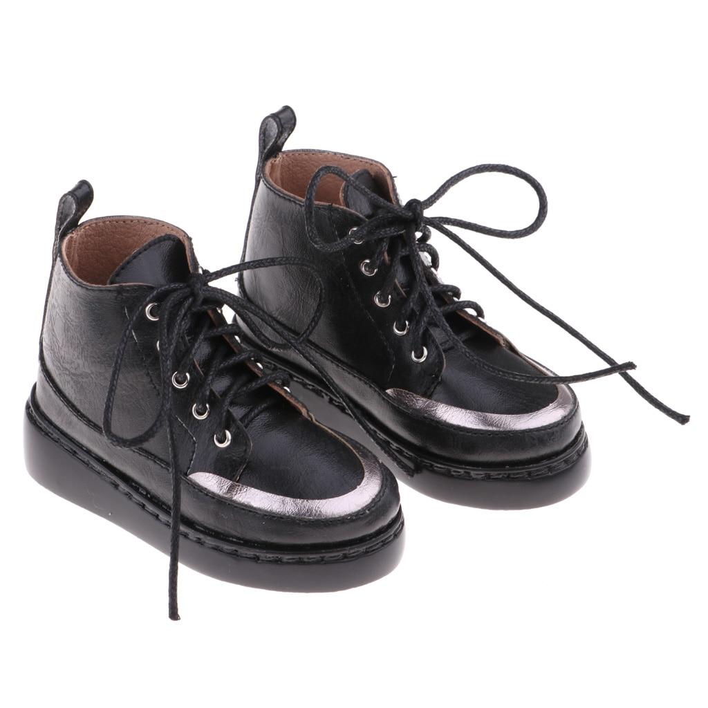 1//3 bjd 65-70cm SD17 boy doll suede black shoes dollfie ship US #2