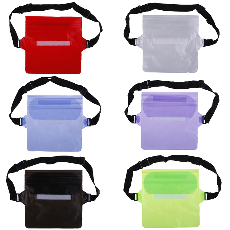 Waterproof Pouch Drift Diving Swimming Bag Underwater Dry Shoulder Waist Pack Bag Pocket Pouch For Phone  Case Cover/camera