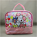 Free Shipping Large Insulated Picnic Cooler Bags Lunch Bag Pink Color Cartoon Cute Portable Travel Thermal Bags for Food LJJ058