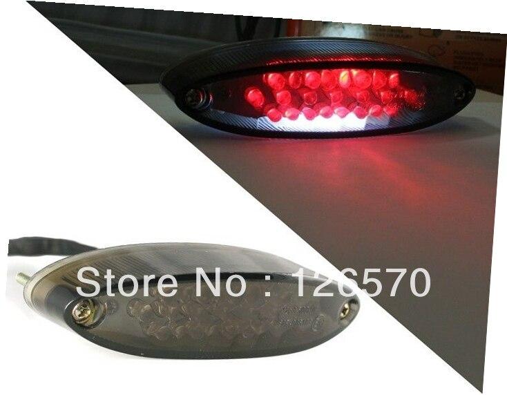 Smoke LED Brake Tail Light Lamp For ATV Arctic Cat Snowmobile Sno Sabercat Prowler 700 PS XTC CA Motorcycle Taillight