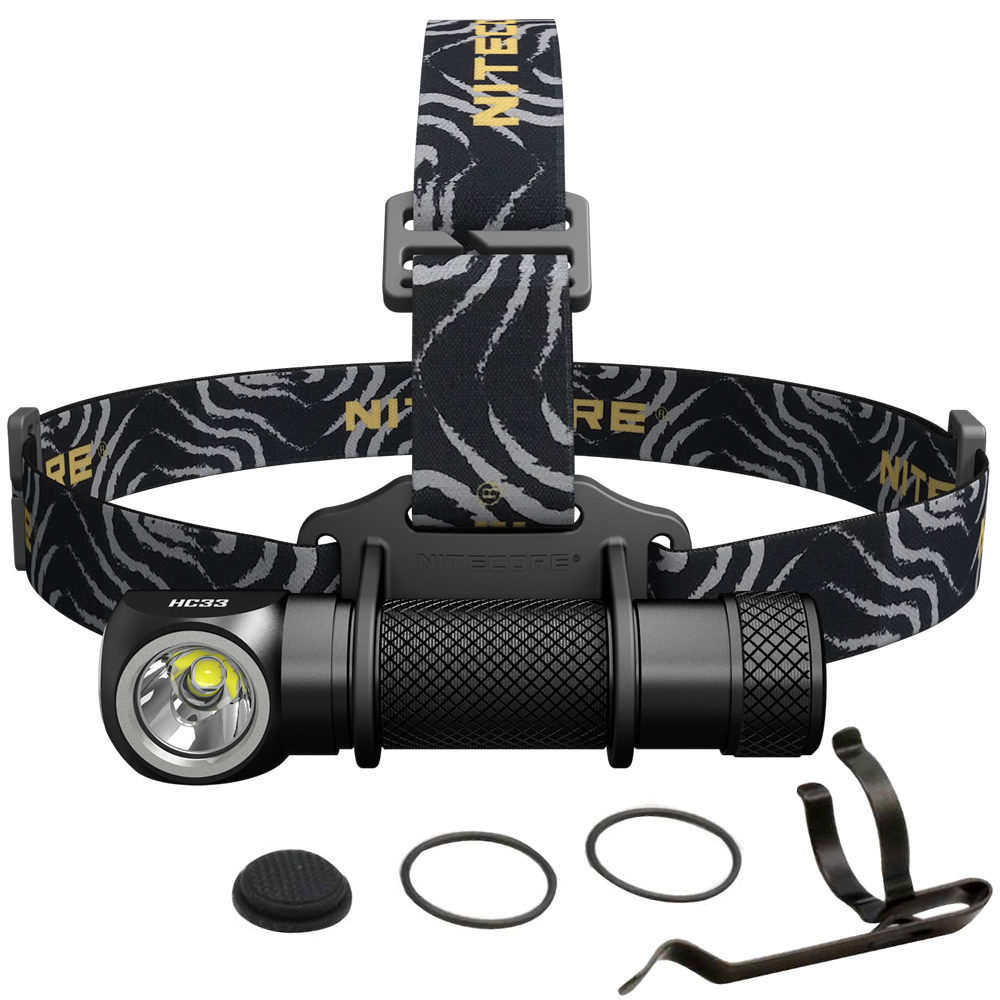 NITECORE HC33 Headlamp Cold White 1800Lumen CREE XHP35 HD LED Headlight Waterproof Flashlight Torch Camping Travel Free Shipping nitecore hc33 1800lumen headlamp um10 charger 18650 rechargeable battery headlight waterproof flashlight outdoor camping travel