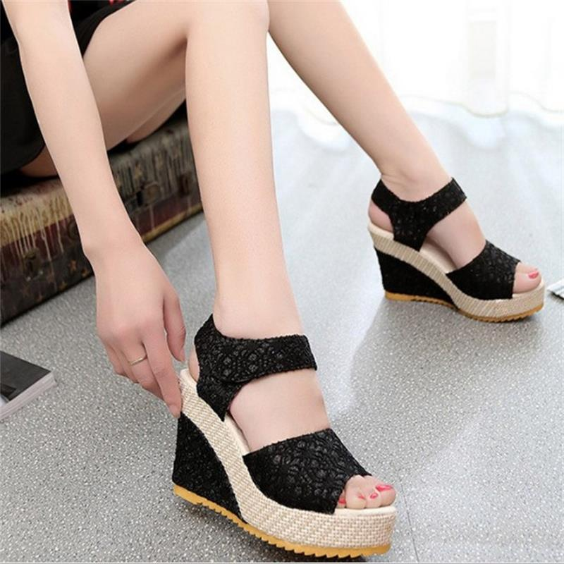 Bohemia Platform Sandals Women Casual Fashion Wedge Gladiator Sexy Female Sandals Boho Girls Summer Women Shoes BT570 casual bohemia women platform sandals fashion wedge gladiator sexy female sandals boho girls summer women shoes bt574