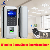 Fingerprint Electronic Door Lock Glass DoorLlock Universal Smart Door Lock Fingerprint Touch Lock Anti theft Lock