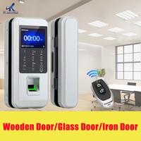 Fingerprint Electronic Door Lock Glass DoorLlock Universal Smart Door Lock Fingerprint Touch Lock Anti theft Lock
