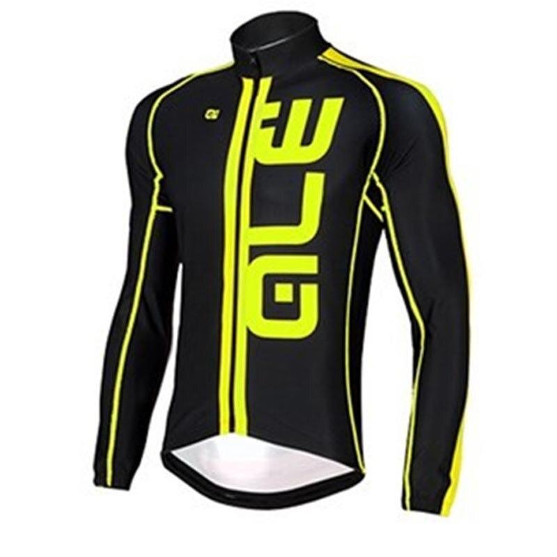 MTB Bike Clothing Sportswear 2018 ALE Professional Team Long Sleeve Riding Knitwear Jacket Ropa Ciclismo hombre