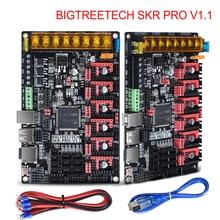 BIGTREETECH SKR PRO V1.1 плата управления 32Bit VS SKR V1.3 Ramps 1,4 3d принтер запчасти MKS GEN L для Ender 3/5 CR10 TMC2208 TMC2209