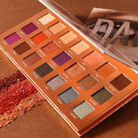 O.TWO.O Eyeshadow Palletes 21 Colors Ultra Fine Powder Pigmented Shadows Glitter Diamond Shimmer Makeup Eye Shadow Palette