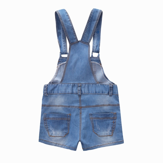Chumhey 9M-4T Baby Rompers summer Boys Girls Shorts Jeans Babe Overalls Infant Clothes Kids Jumpsuit Child Clothing 12 M 2 Years 2