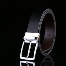 Pin Buckle Leather Belt For Men