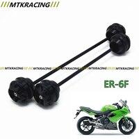 Free Shipping For KAWASAKI ER6F NINJA 650 2012 2015 CNC Modified Motorcycle Rear Wheel Drop Ball