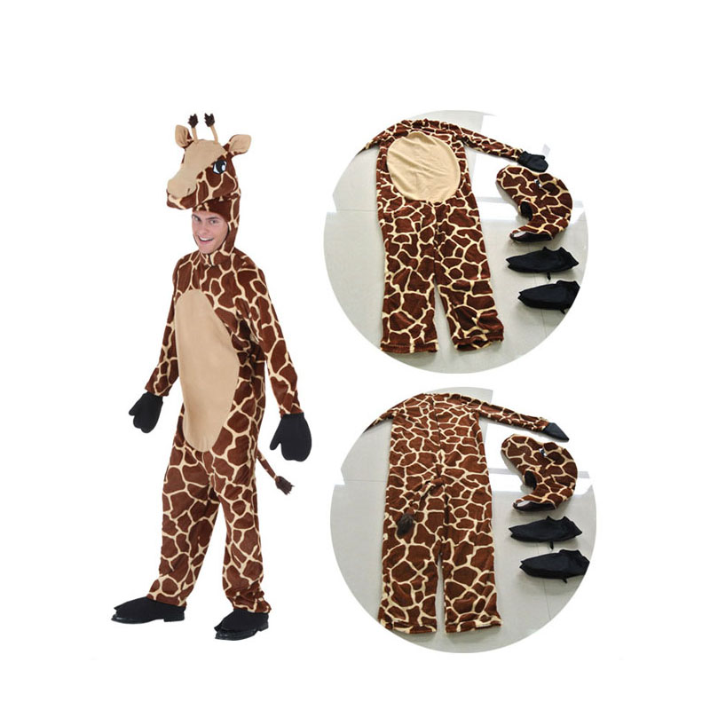 irek hot giraffe clothing l halloween costume adult children cosplay costume for carnival party top quality in holidays costumes from novelty special use