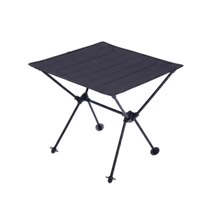 Image 2 - Portable Lightweight Outdoors Table For Camping Table Aluminium Alloy Picnic BBQ Folding Tables Outdoor Tavel Portable Tables