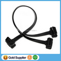 10pcs/lot! Free shipping OBD2 OBD II 16 Pin to 16 Pin 1 Male to Dual Female Extension cable, OBD Flat Cable 16Pin to 16 Pin