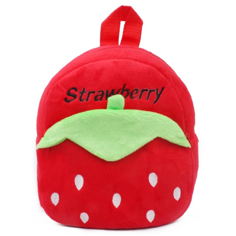 1-25-years-Lovely-children-plush-backpack-cartoon-Monkey-Elephant-Animal-schoolbag-wholesale-5