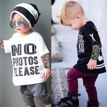 Детские футболки с рисунком тату; сетчатые футболки с рукавами для маленьких мальчиков и девочек; хлопковые топы; Детские футболки; сезон весна-осень; новое поступление