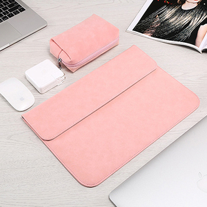 Image 3 - Matte Laptop Sleeve Bag For Macbook Air 13 A1932 11 12 15.4 New Pro 15 Touch Bar Notebook Case For Xiaomi 13.3 15.6 Scrub Cover