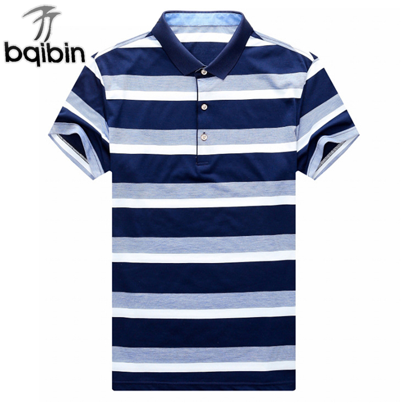 2018 Men Casual Striped   Polo   Shirt Summer Cotton Slim Fit Men'S Stripe   Polo   Shirt Short Sleeve Turn-Down Collar   Polo   For Male