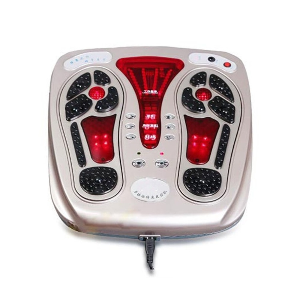 Multifunctional Electroestimulador Muscular Body Relax Muscle Massager Pulse Foot Massaging Device Circulation Booster цена