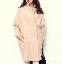 New 2016 women Wool Coat Winter Warm coats Long Thick Women Wool Coats Fashion women jacket coat CE0362