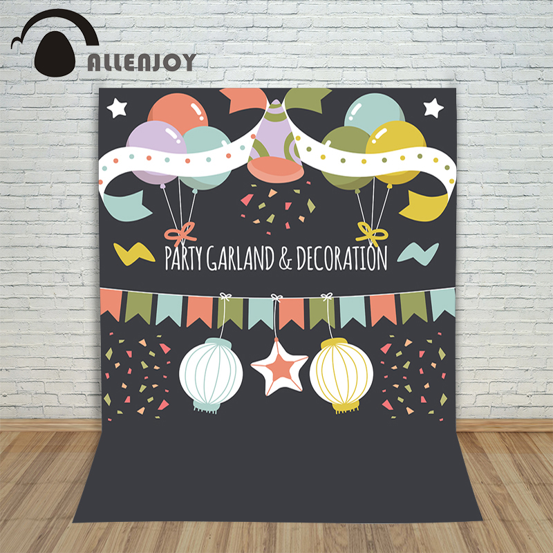 Photography children's background birthday hand retro ornaments balloons photocall party profession studio photo prop photography children s background birthday cake gift present greeting photocall customize cute studio photo prop