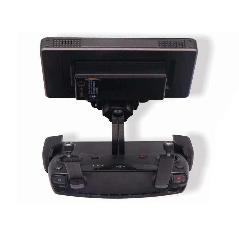 Sunnylife Mavic Pro 5.5 7.85 inch CrystalSky Monitor Holder Extension Aluminum Bracket Tablet Mount for DJI Spark Remote Control (5)