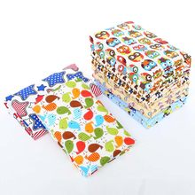 Baby Changing Pad Urinal Pad For Infant Child Print Bed Waterproof Cotton Cloth Changing Mat For Crib(China)