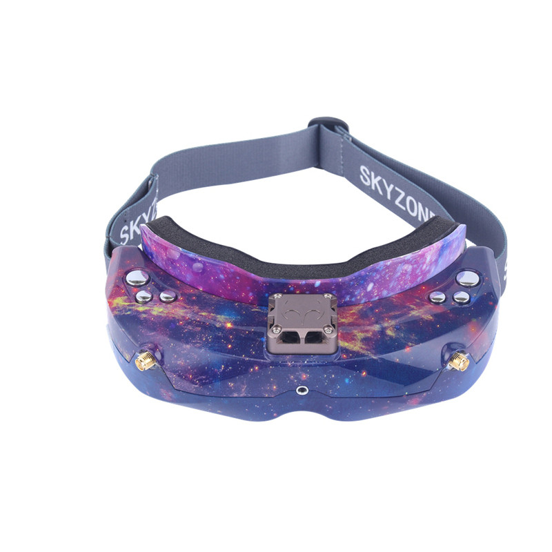 SKYZONE SKY02X 5.8Ghz 48CH diversité FPV lunettes de soutien 2D/3D HDMI tête de suivi et ventilateur DVR caméra avant pour Drone de course RC - 3