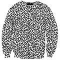 Новая Мода Женщины Мужчины 3d Crewneck Толстовка Длинные Рукава Толстовки Прохладный Стиль Перемычка Топы Пуловер для Мужчин