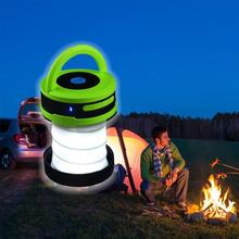 OUTAD Portable Size 2 in 1 Multifunctional Outdoor Camping Travel Wireless Bluetooth Speaker And LED Lamp With Built-In Mic