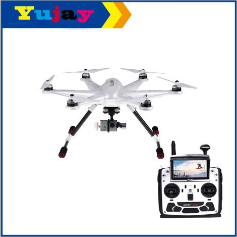 Walkera H500 RTF FPV RC Drone Hexacopter with G-3D Brushless Gimbal, iLook+ Action Camera and Devo F12E walkera devo f12e specialized fpv 32 channel telemetry radio 5 8ghz 12 channel lcd screen free ship