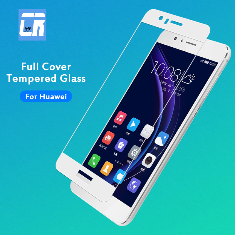 9H Full Cover Tempered Glass for <font><b>Huawei</b></font> P10 Nova 3 2 Nova Plus <font><b>GR3</b></font> GR5 <font><b>2017</b></font> <font><b>Screen</b></font> Protector Film for <font><b>Huawei</b></font> Honor 8 9 6X Glass image